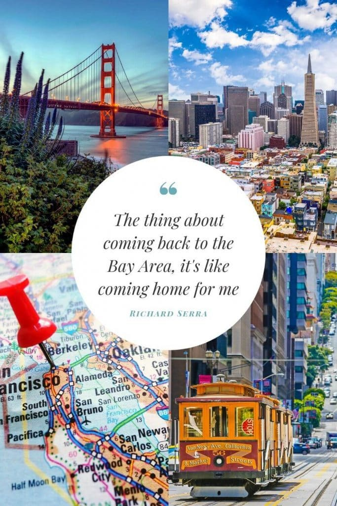 Be inspired by 85 San Francisco Quotes for Instagram with free photos for use on social media. These quotes about San Francisco are super fun!