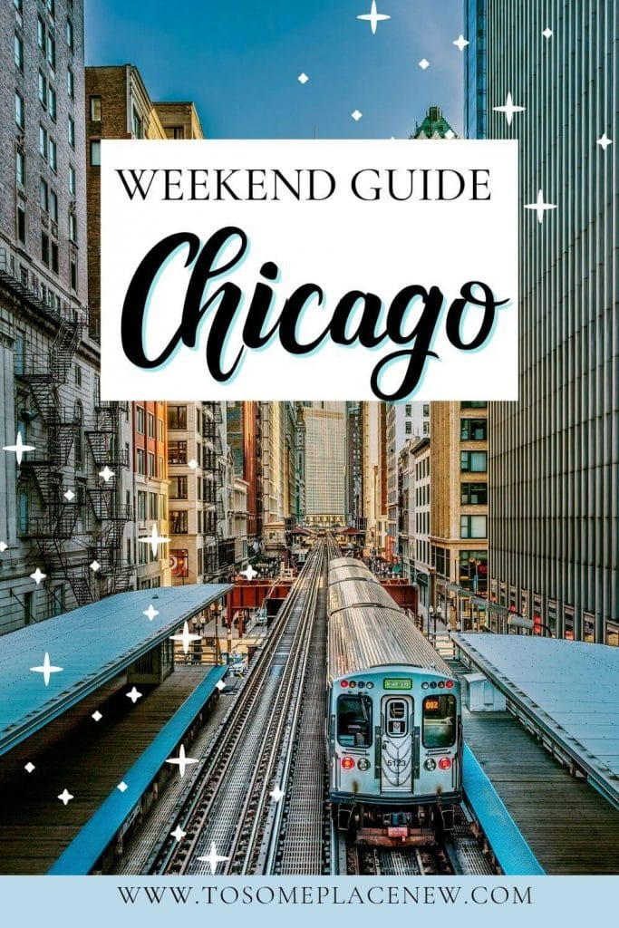 Pin for Chicago 2 day itinerary