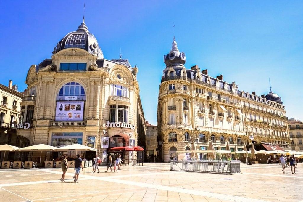 Montpellier city center
