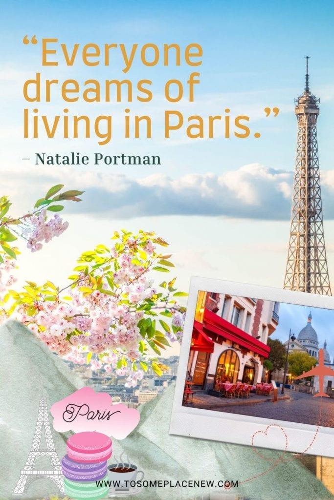 Paris quote by famous people
