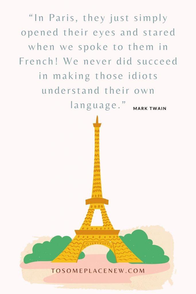 Paris Eiffel Tower Illustrated