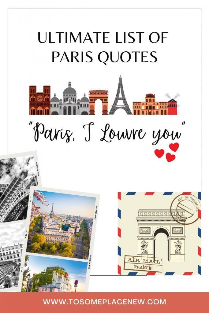 Quotes about Paris