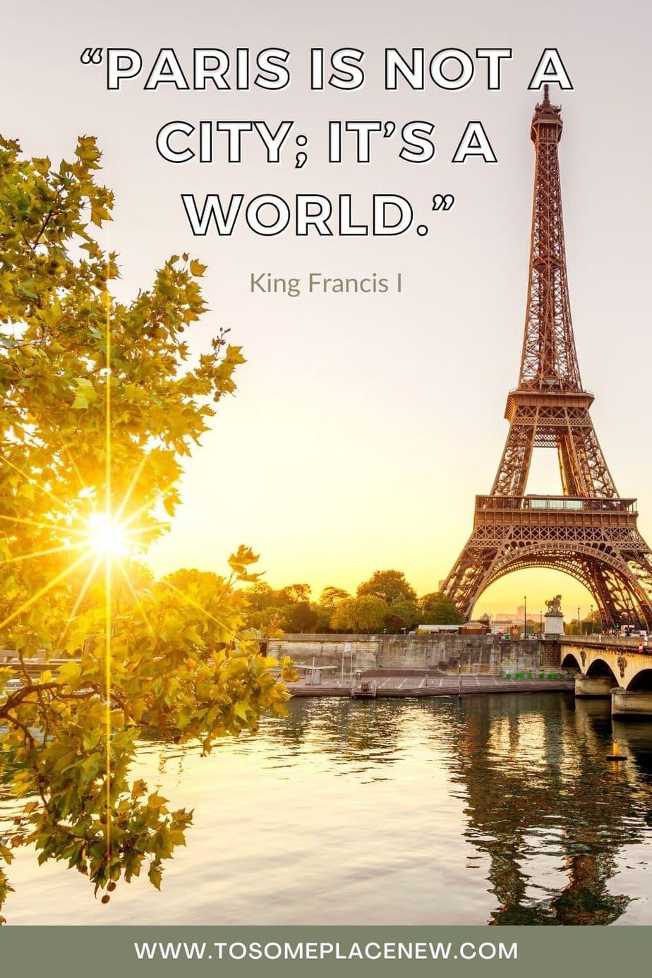 Best Paris Quotes