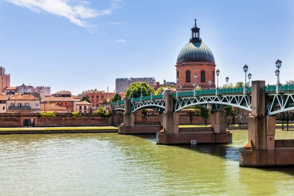 View of Toulouse France
