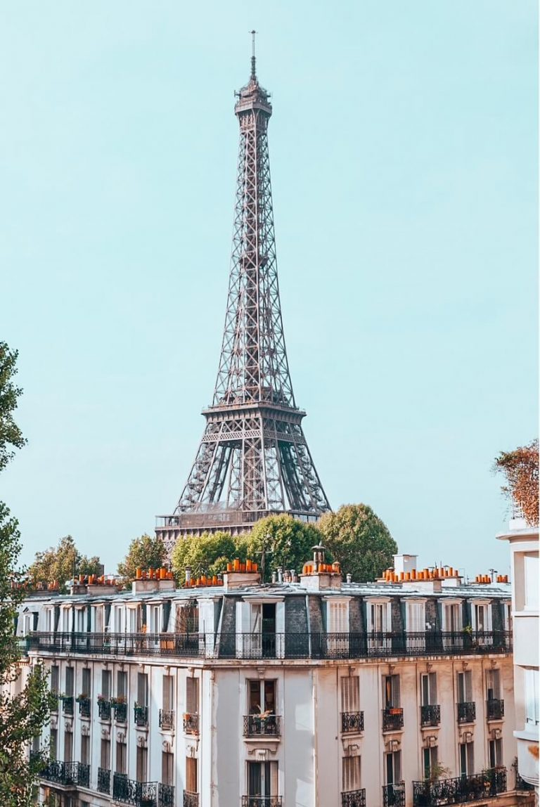 18 Best Hotels in Paris with Eiffel tower view [2021]