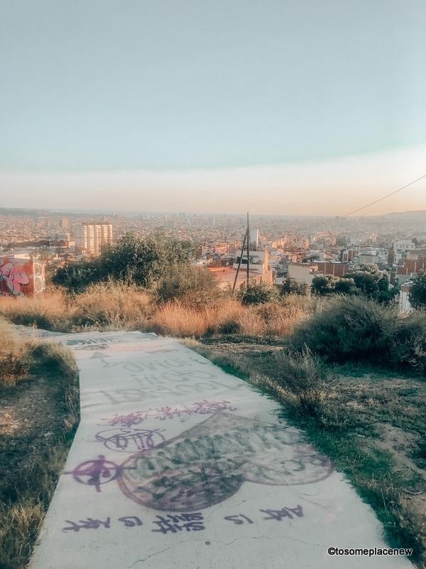 Graffiti in Bunkers