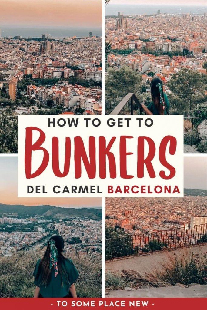 Pin for Bunkers del Carmel Barcelona