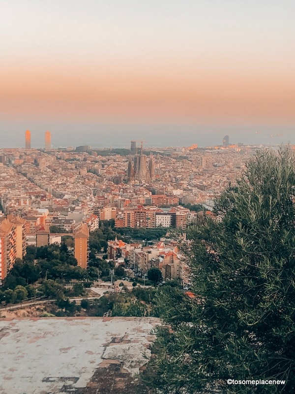 How to get to Bunkers del Carmel Barcelona