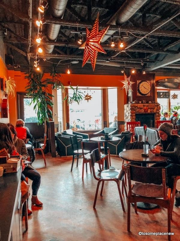 Inside Rocky Mountain Bagel Co