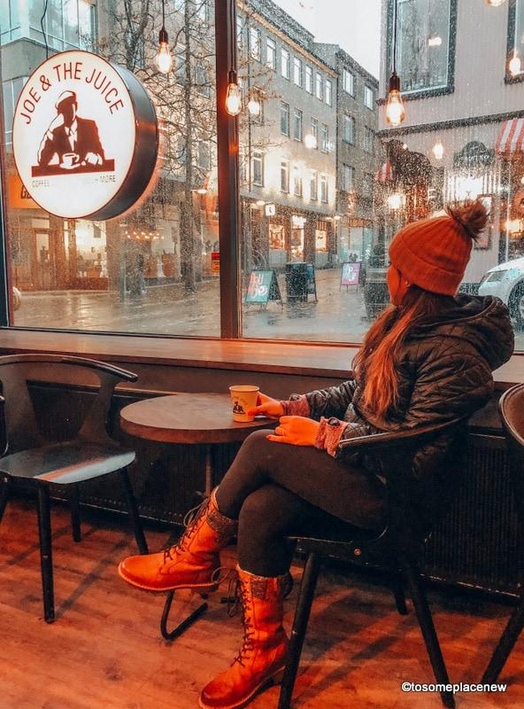Reykjavik City Packing List - Girl wearing beanie, boots, jacket
