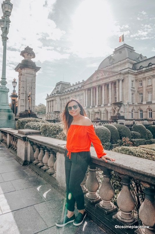 Girl in Brussels