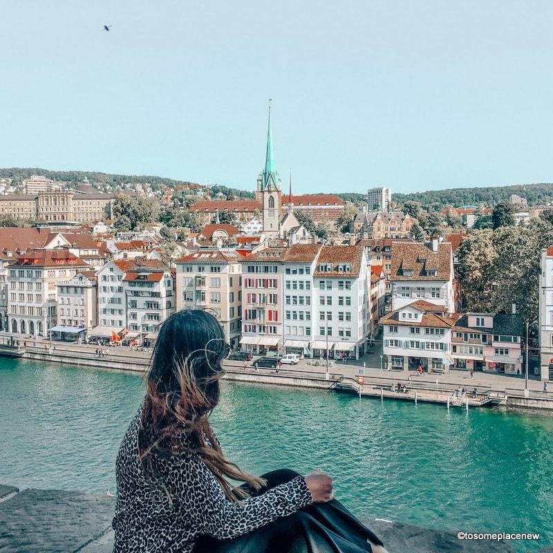 Cardigan city trip packing list Zurich
