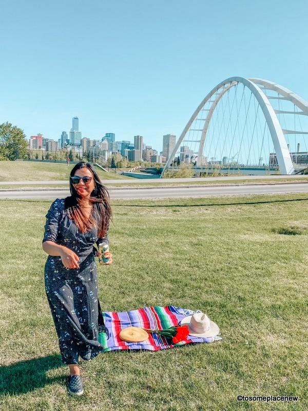 Girl in Edmonton Canada