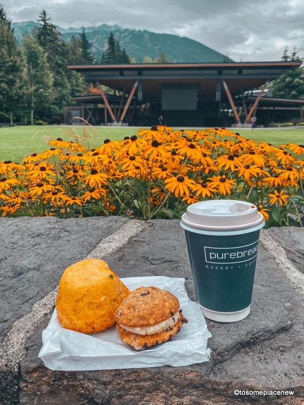 Whistler Pure Bread Coffee and sweet treats