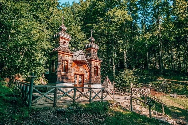 Russian Chapel in  Kranjska Gora