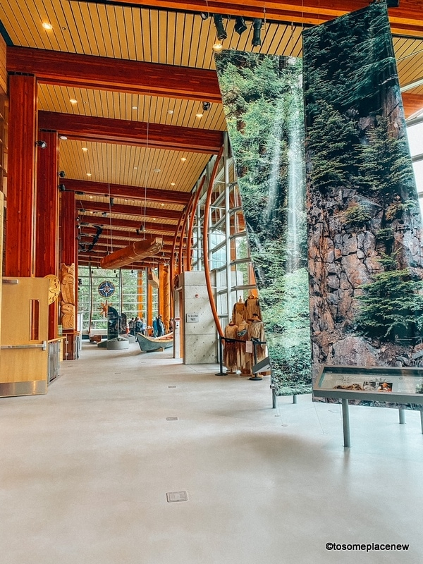 Exploring Squamish Lil'wat Cultural Centre
