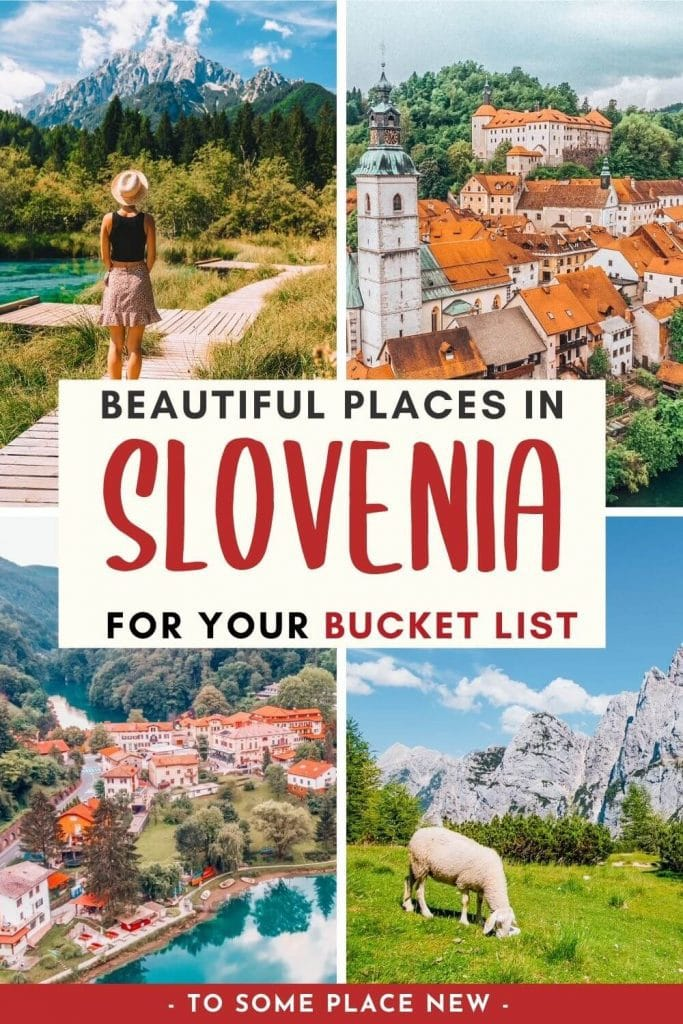 Slovenia travel destinations  Discover the most beautiful places in Slovenia you must visit in Europe. This Slovenia bucket list includes fairytale villages, castles, and mountains. Best places to visit in Slovenia Europe travel. Slovenia things to do.