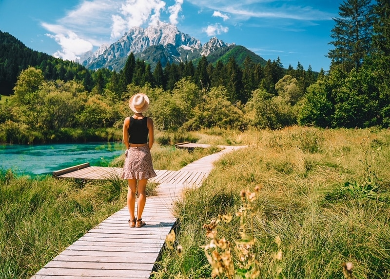 Zelenci (in English means - green) natural reserve