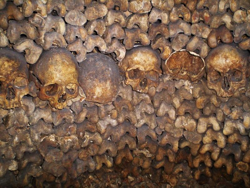 Catacombs of Paris bucket list