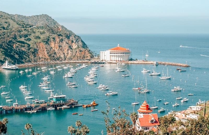 Avalon Bay from Catalina Island
