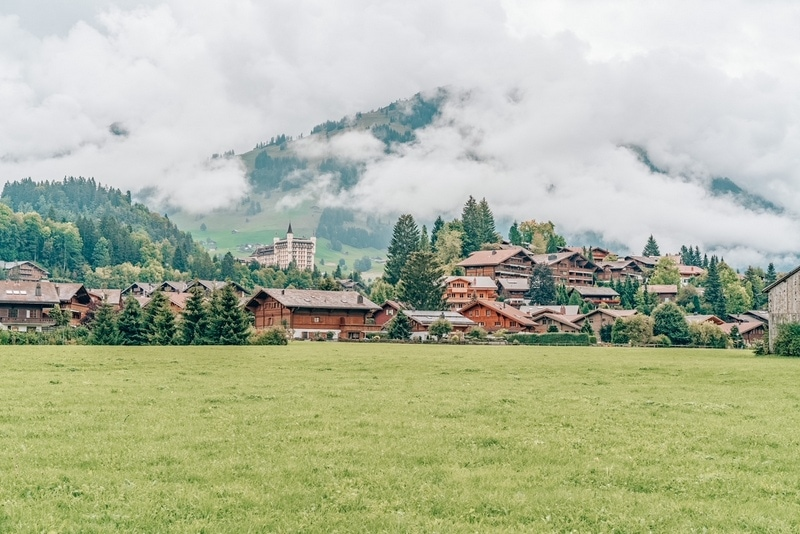 Gstaad in the summer