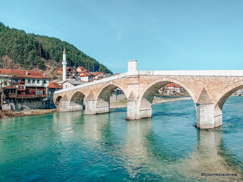 Konjic is best characterized by the bridge - Stara Ćuprija