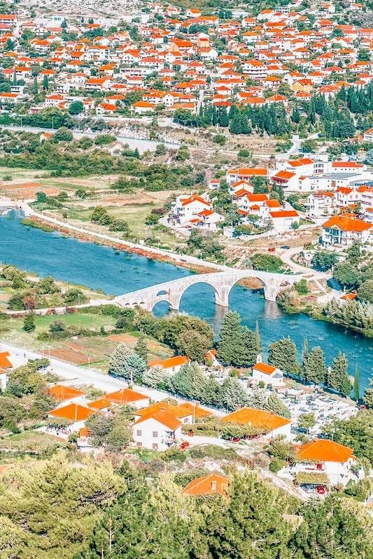 Trebinje town and valley,  Bosnia and Herzegovina